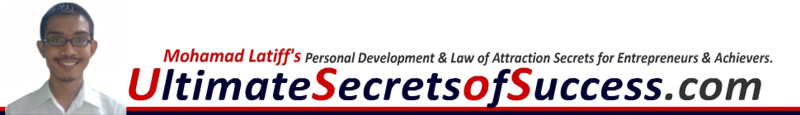 Ultimate Secrets of Success - Personal Development and Law of Attraction secrets for Entrepreneurs and Achievers